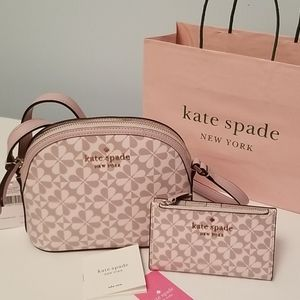 Kate Spade Dome Crossbody Bag and Bifold Wallet